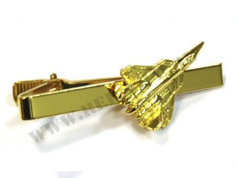 Зажим для галстука Су-57 золотистый