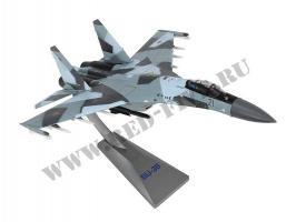 Модель металлическая Су-35 1/72