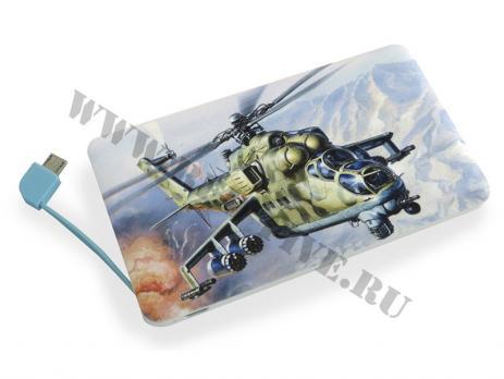 Пауэрбанк 5000 мАч Ми-24