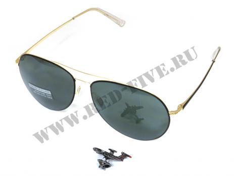 Очки солнцезащитные Авиатор (модель 2560-С1)