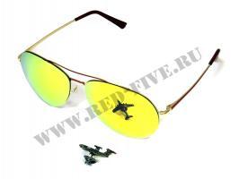 Очки солнцезащитные Авиатор (модель 2560-С4)
