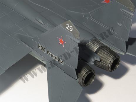 Модель металлическая Миг-29 1/48 ВВС России