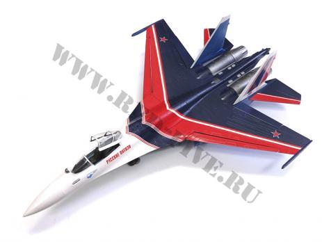 Модель металлическая Су-35 Русские Витязи 1/48