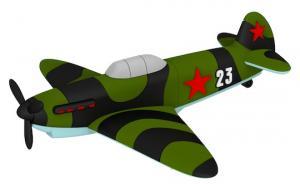 USB-накопитель самолёта Як-1Б с бортовым номером 23 Емкость 64 Гб